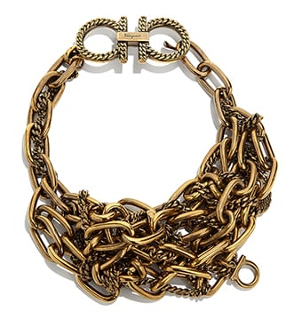 ee1e85b339b7 Collar de cadena gruesa Gancini