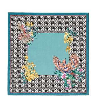 eccb81f37 Women's Silk Scarves | Salvatore Ferragamo US