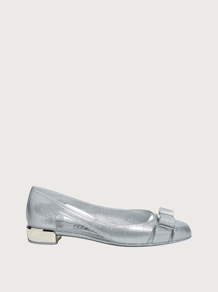Jelly ballet flat with Vara bow - Shoes