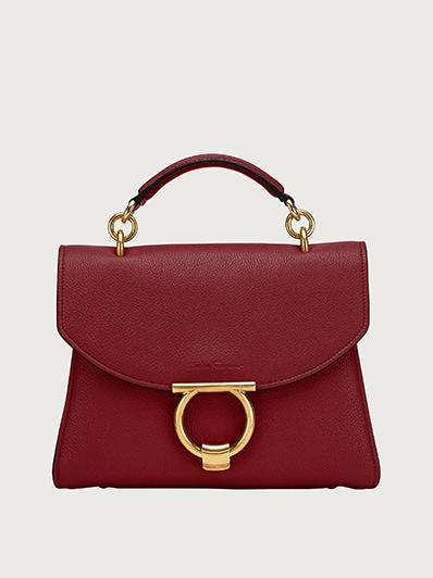 Gancini Top Handle Bag Handbags