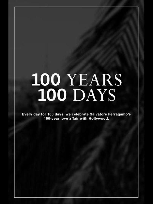 100 ANNI 100 GIORNI